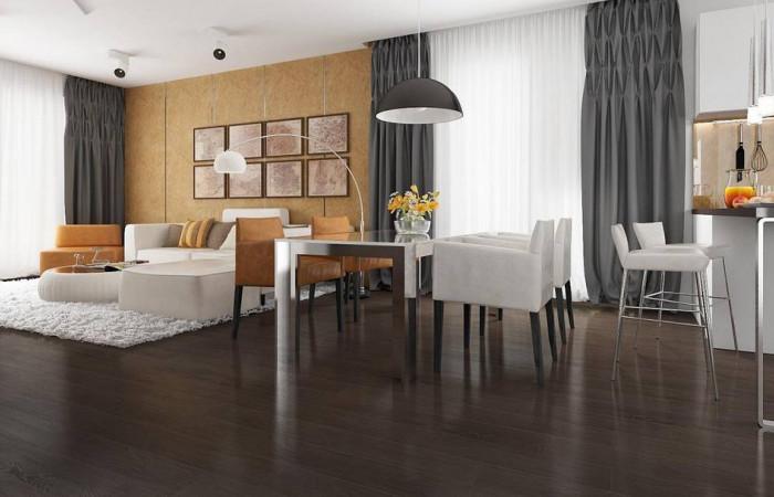 Z203 - Проект удобного одноэтажного дома с гаражом для двух автомобилей и большим хозяйственным помещением.
