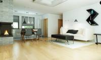 Zx53 - Одноэтажный дом в стиле тихоокеанского бунгало простой и функциональной планировкой.