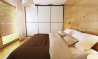 Zx54 - Комфортный современный дом с гаражом для двух авто и обширной террасой на втором этаже.