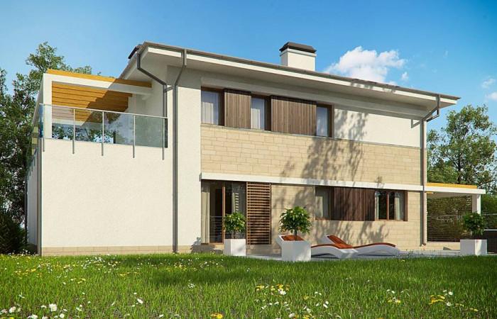 Zx63 B + - Увеличенная версия проекта современного дома Zx63 B