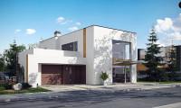 Zx64 - Комфортный современный дом с дополнительным помещением для коммерческого использования.