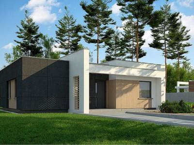 Zx77 D - Современный дом для небольшой семьи