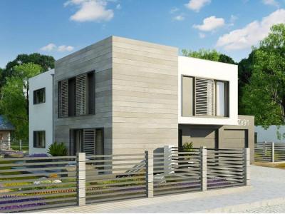 Zx91 - Простой, современный дом площадью около 170 м2 с 5 спальнями и гостиной.