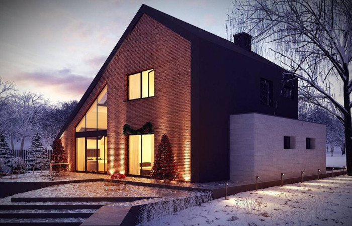 Zx95 - Проект комфортного мансардного дома со вторым светом и функциональной планировкой.