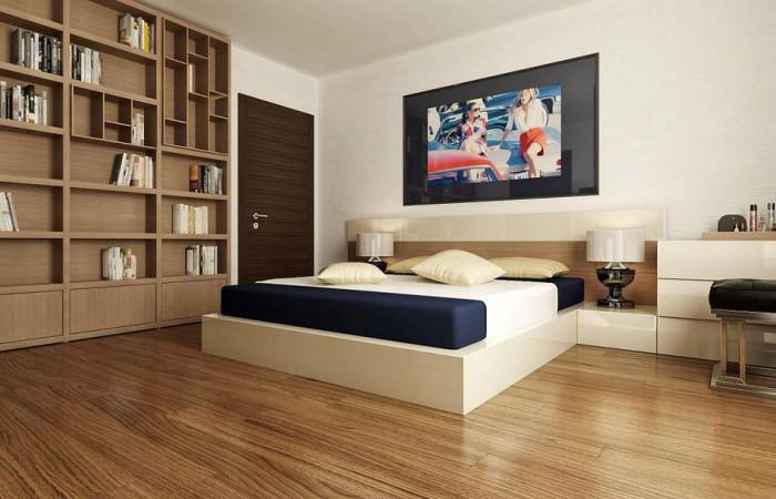 Zx101 - Одноэтажный дом в стиле хай-тек с четырьмя спальнями.