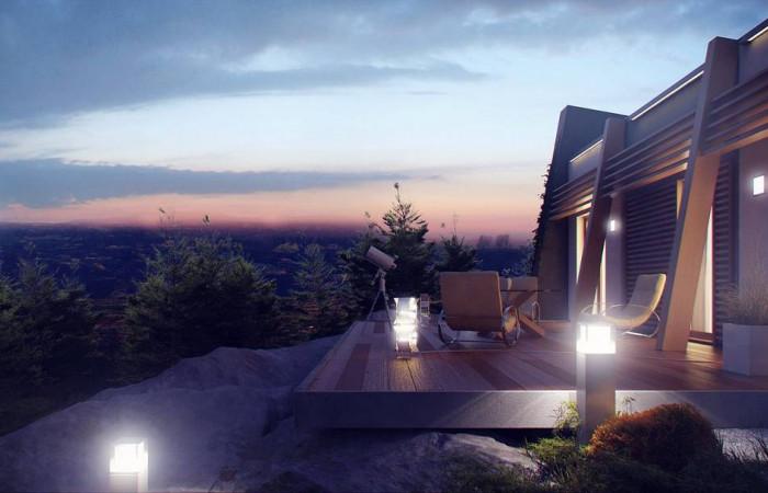 Zx106 - Функциональный одноэтажный дом исключительного современного дизайна.