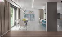 Zx107 - Красивый и комфортный дом с плоской кровлей, гаражом на две машины и просторными террасами.