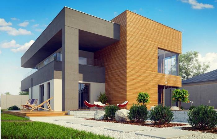 Zx108 2M - Современный двухэтажный дом на две семьи