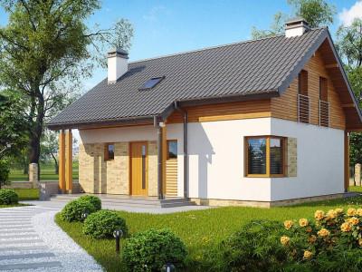 Z210 - Компактный односемейный дом с дополнительной спальней на первом этаже.