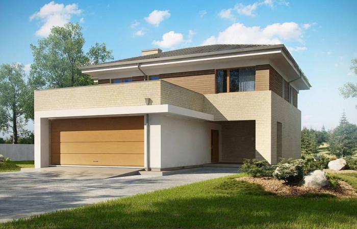 Zx112 - Современный комфортный двухэтажный дом с баней