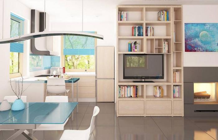 Z212 dk - Проект каркасного мансардного дома в классическом дизайне