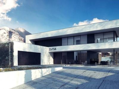 Zx154 - Просторный современный двухэтажный дом