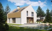 Z218 - Стильный современный дом, экономичный в строительстве и эксплуатации.
