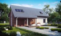Z226 - Удобный и красивый дом с красивым окном во фронтоне.