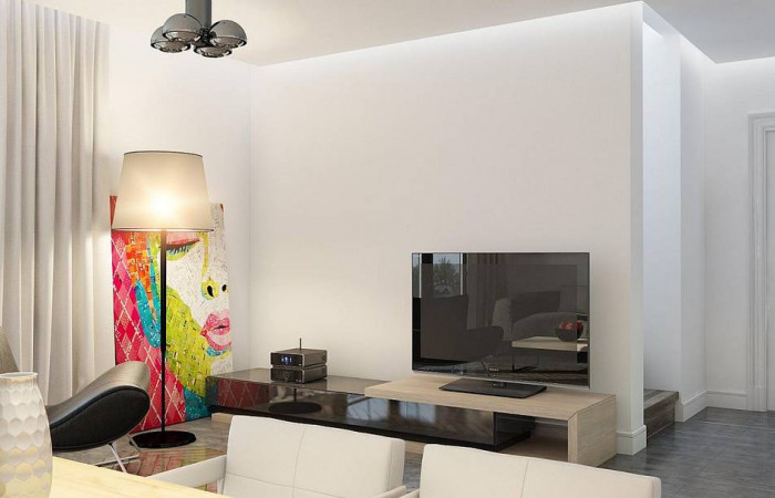 Z229 - Энергосберегающий дом стильного современного дизайна.