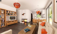 Z241 - Аккуратный одноэтажный дом в классическом стиле.