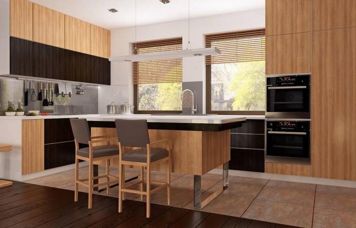 Z261 v1 - Вариант проекта Z261 с мансардой. Две дополнительные комнаты на первом этаже и большое хозяйственное помещение.