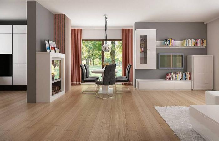 Z263 - Стильный современный дом с пятью спальнями и гаражом.