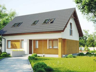 Z267 - Проект функционального энергоэффективного дома с мансардой.