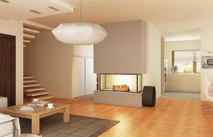 Z270 A - Версия проекта Z270 с альтернативной планировкой мансардного этажа.