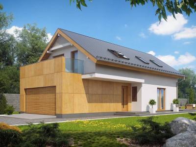 Z292 - Практичный и уютный дом, идеально подходящий для вытянутого участка.