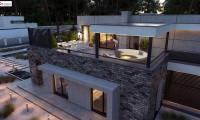 Zb22 - Современный большой дом с плоской крышей