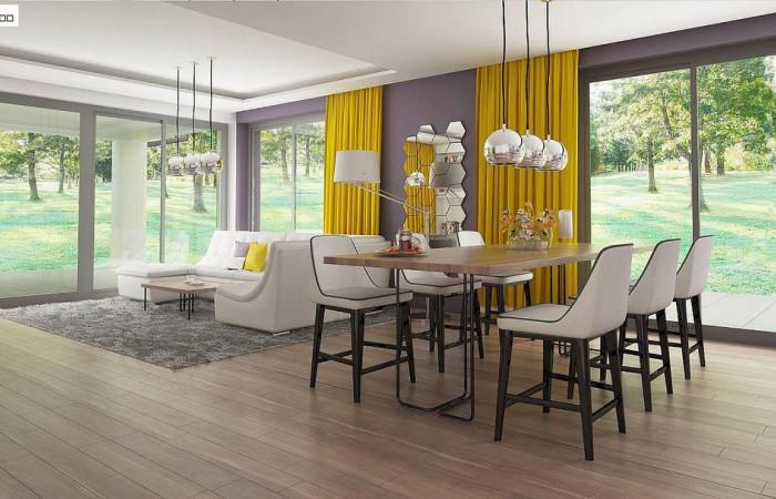 Z317 - Проект комфортного и функционального одноэтажного дома.