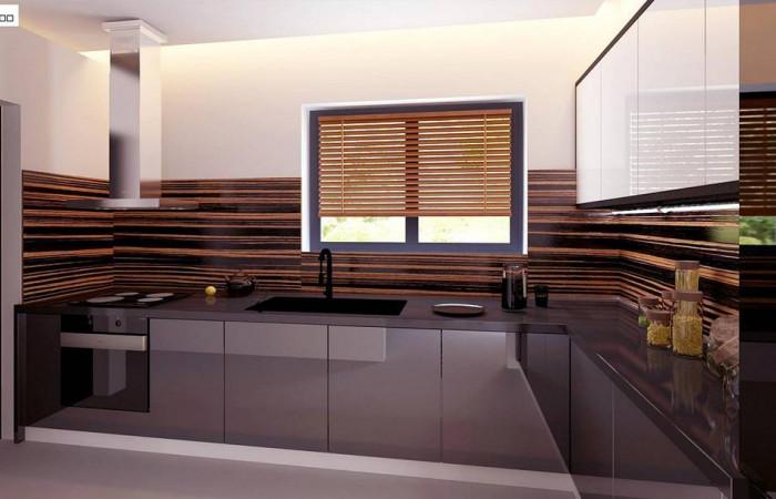 Z331 - Комфортный мансардный коттедж с современным дизайном экстерьера
