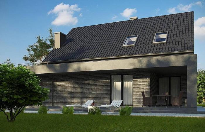 Z347 - Проект комфортного дома в современном европейском стиле.