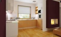 Z34 - Практичный дом для небольшого участка, простой в строительстве, дешевый в эксплуатации.