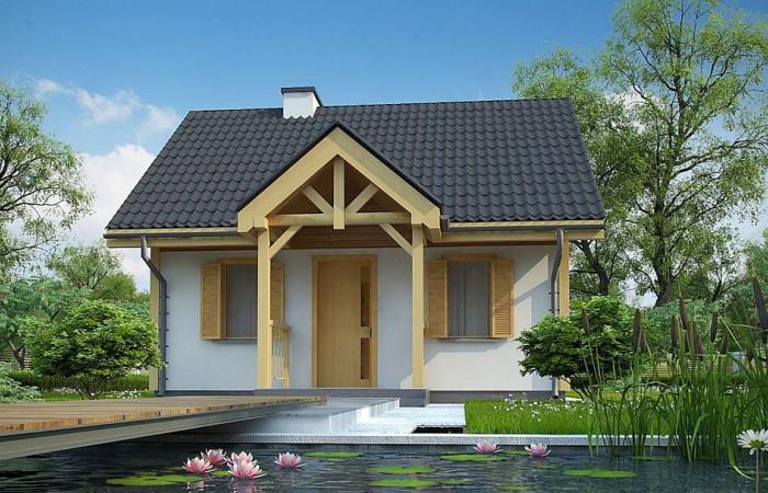 Z352 - Проект уютного гостевого домика