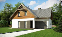 Z365 - Современный жилой дом с гаражом