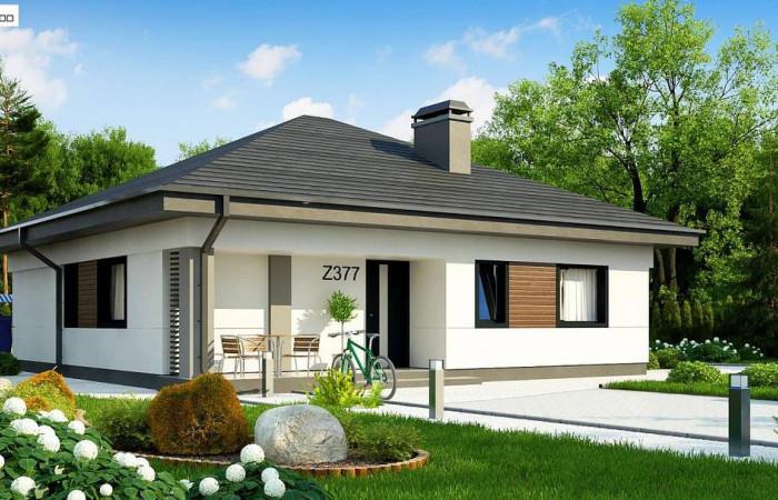 Z377 - Небольшой домик с удобной планировкой