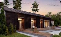 Z395 - Дом в необычном современном стиле для большой семьи