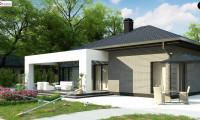 Z403 - Одноэтажный дом с четырьмя спальнями и гаражом на два автомобиля