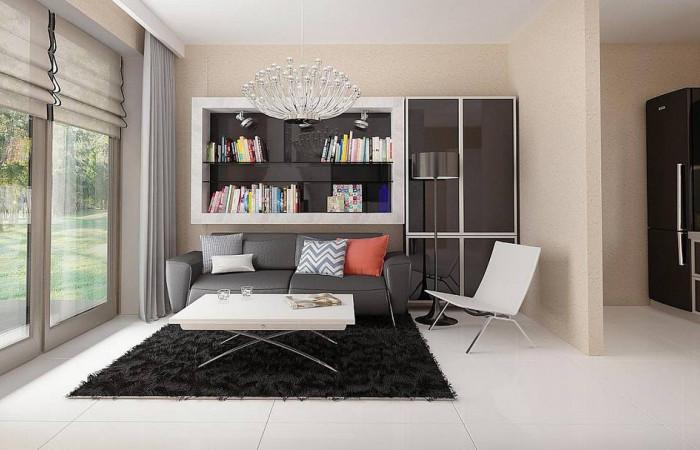Z42 - Маленький одноэтажный дом, оснащенный всем необходимым для круглогодичного проживания.