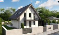 Z440 - Проект компактного уютного дома со вторым светом