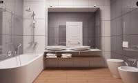 Z52 - Проект одноэтажного дома с многоскатной кровлей, с фронтальным гаражом.
