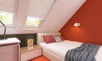 Z66 D zp - Дом с мансардой с двускатной крышей и комнатой на первом этаже