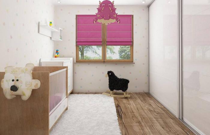 Z67 A - Одноэтажный коттедж с четырьмя спальнями