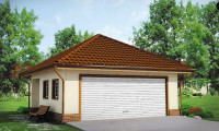 Zg15 - Современный проект просторного гаража  для двух авто