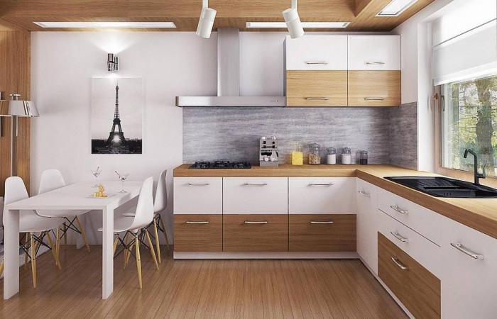 Z72 - Экономичный в реализации одноэтажный дом с просторной гостиной и двумя спальнями.