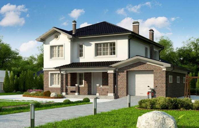 Zz2 L - Элегантный двухэтажный дом с гаражом, с 5 спальнями