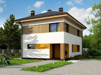 Zz3 - Компактный проект двухэтажного дома