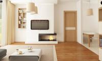 Z87 - Выгодный компактный одноэтажный дом с угловым окном в кухне.