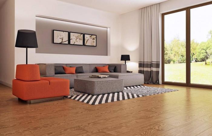 Z93 - Функциональный одноэтажный дом с современными элементами отделки фасадов.