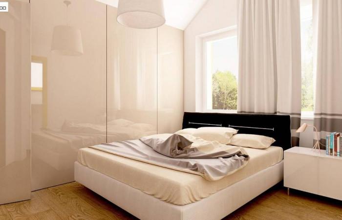 Z95 - Дом с мансардой, с эркером и балконом, со стильным оформлением фасадов.
